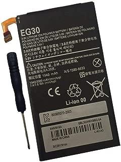 Tesurty Replacement Battery for Motorola Droid RAZR M, Electrify M, XT907, XT890, XT901 XT90,2 RAZR M XT905, Droid Mini (XT1030) Verizon 4G, EG30 SNN5916A SNN5916B