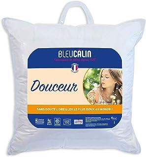 Bleu Câlin ODDJ Oreiller Douceur Blanc 65 x 65 cm
