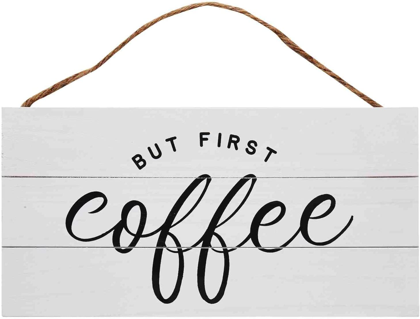 GSM Japan Maker New Brands Coffee Wood Plank Hanging Kitchen for Sign Bombing free shipping 13.75 x 6
