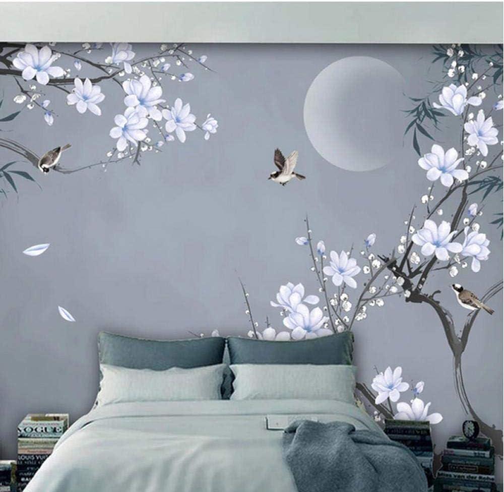 Dalxsh Photo Wallpaper Chinese Style Bamboo 激安通販専門店 Leaf Ma Hand-Painted 出群