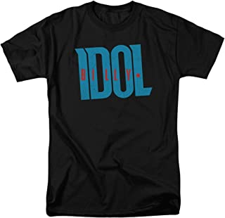 Billy Idol Idol Logo Adult T-Shirt