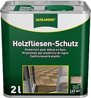 Ultrament Holzfliesen-Schutz kdi Holz, naturbraun, 2l