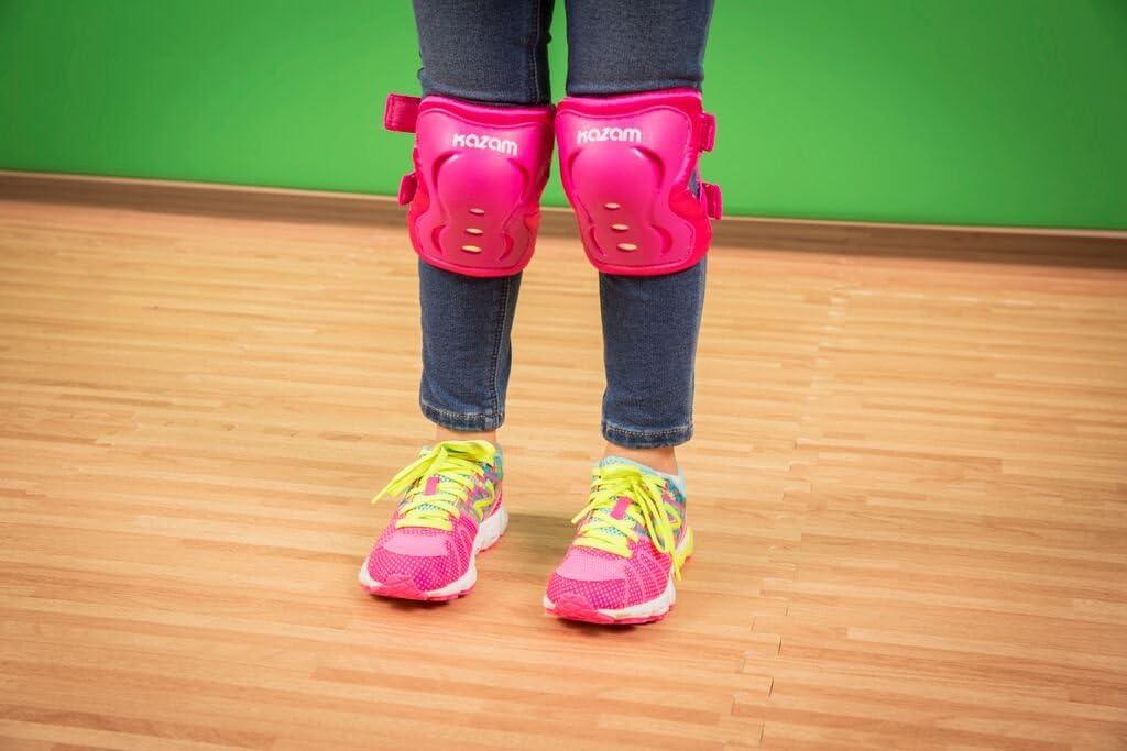 KaZAM 79834373684 Childrens Multi-Sport Knee and Elbow Pad Set