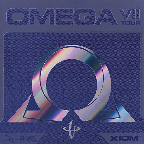 エクシオン(XIOM) 卓球 裏ソフトラバー オメガ 7 ツアー 095885 レッド MAX