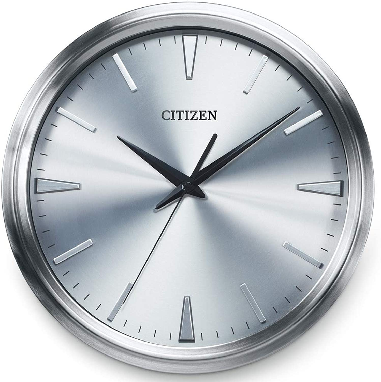 Citizen Gallery Circular Wall Clock Silver Tone CC2004