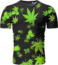 NOBRAND - Camiseta de manga corta con estampado para primavera y verano
