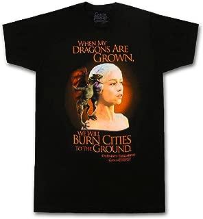 The Game of Thrones Daenerys Targaryen Dragons are Grown Adult T-Shirt