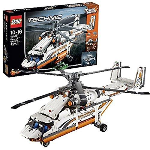 LEGO 42052 Technic - Helicóptero de Transporte Pesado, Multicolor (42052)