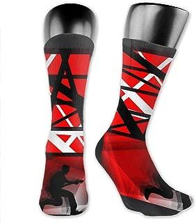 Van Halen Long Socks Novelty Cool Cotton Warm Winter Compression Socks For Women Men