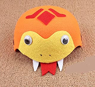 COK-AU Party Accessories Children's Day Performance Clothing Accessories Cartoon Animal Hat (Snake)
