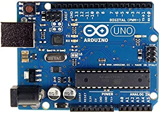 Arduino Uno R3 Development Board, Kit Microcontroller Card & USB Cable for Electronics & Robotics, Based on ATmega328P