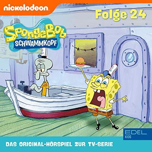SpongeBob Schwammkopf 24. Das Original-Hörspiel zur TV-Serie Titelbild