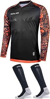 KELME, Goalkeeper Jersey Pro Bundle - Incluye Premium Pro Playera de Portero y Calcetines - tamaños para niños y Adultos