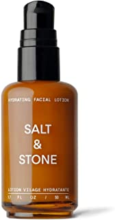 Salt & Stone - Hydrating Facial Lotion - 1.7 fl oz - Lightweight, Hydrating, Moisturizer, Oil-Free, Natural, Plant-based S...
