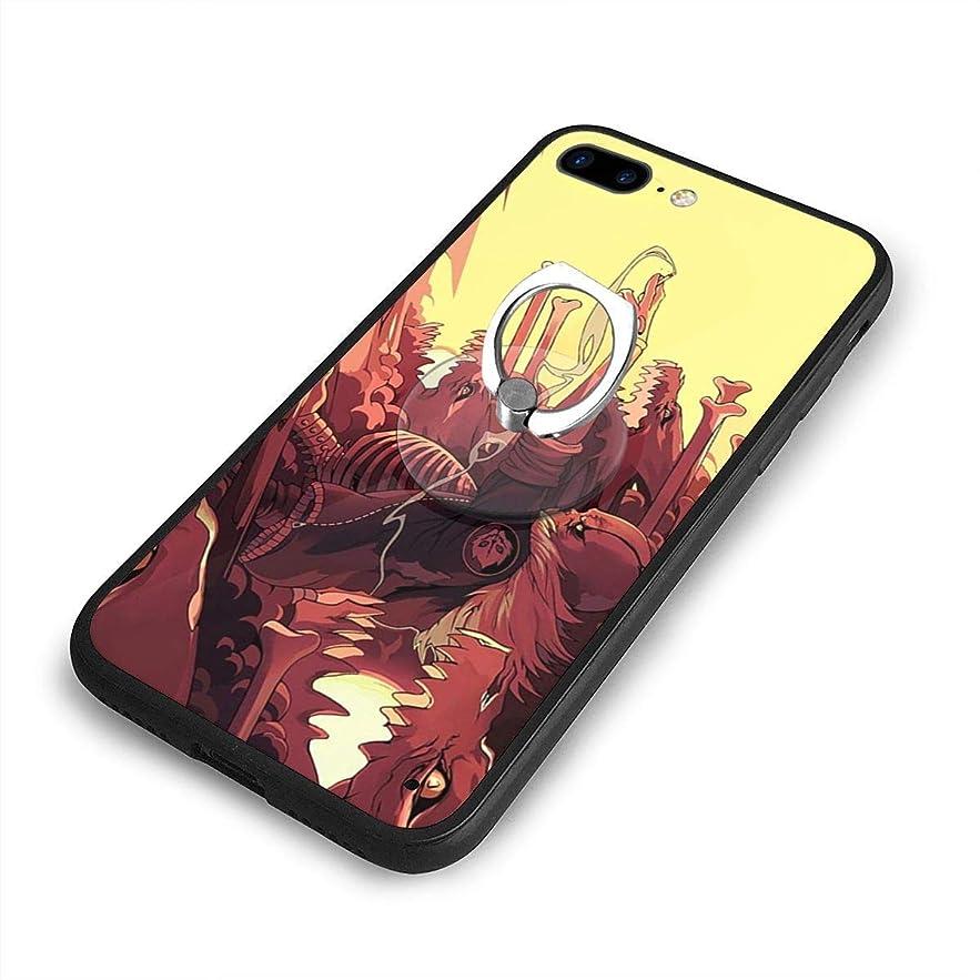 アカデミック開拓者行うUndertale Sansはあなたを望んでいますかiPhone 7/8 Plusケースリングブラケット 携帯カバー 創意デザイン軽量 傷つけ防止 360°回転ブラケット 携帯ケース PC 衝撃防止 全面保護