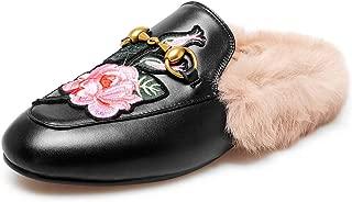 flexus pride slip on leather mules