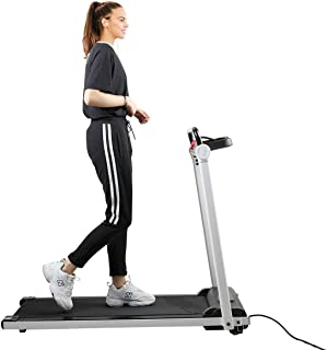 JAXPETY Electric Folding Treadmill 2HP Fitness Motorized Running Jogging Machine Perfect for Home/Office Gym with Large LED Display, 12 Preset Programs, Black