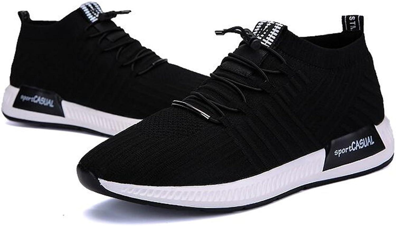 Men's shoes Feifei Spring and Autumn Breathable Fashion Mesh Sports shoes 2 Colours (color   02, Size   EU39 UK6.5 CN40)
