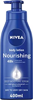 NIVEA, Body Care, Body Lotion, Nourishing, Dry to Very Dry Skin, 400ml