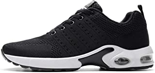 SKLT Air Cushion Running Shoes Men Fly Weave Breathable Sneakers Soft Jogging Athletics Casual Sport Shoes Male Mesh Footwear Mesh