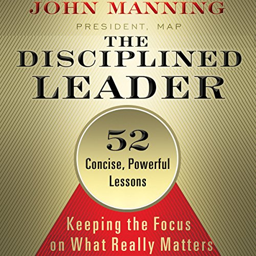 The Disciplined Leader audiobook cover art