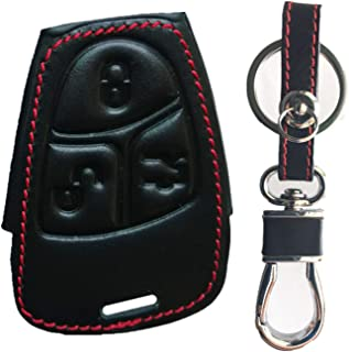 Rpkey Leather Keyless Entry Remote Control Key Fob Cover Case protector For Mercedes-Benz Class A C E S ML CLK SLK C200 E320 350 CLS IYZ3312