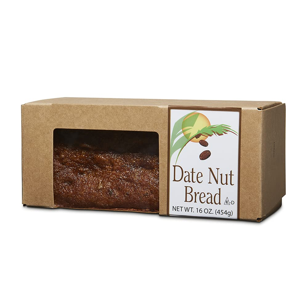 Classic Date Nut Bread Full Flavor Wal Oakland Mall Max 56% OFF Dates of Nuts Crunchy
