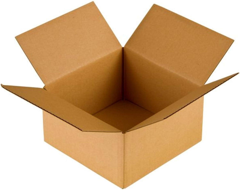 250x250x100 250x250x100 250x250x100 mm Faltkartons - BRAUN - Versandkarton Kartons Faltschachteln Versandkarton Postkarton - Menge wählbar - (100) B07PB9XPGT    | Vorzüglich  ebf38a