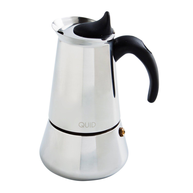 Quid 7605000 Cafetera de acero inoxidable: Amazon.es: Hogar