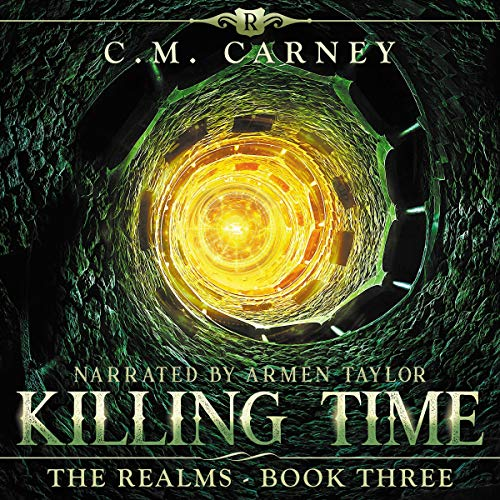 Killing Time: A Novel of the Realms      A Humorously Epic LitRPG Adventure              Written by:                                                                                                                                 C. M. Carney                               Narrated by:                                                                                                                                 Armen Taylor                      Length: 5 hrs and 3 mins     1 rating     Overall 5.0