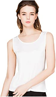 METWAY Women's Shirts Classic Silk Sleeveless Tank Tops
