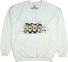 Peanuts Charlie Brown And Friends Christmas Caroling Adult Sweatshirt