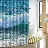 chenjing custom Tende da doccia Impermeabile Anti-Muffa Anti-Batterica Tende doccia per va...