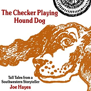 The Checker Playing Hound Dog audiobook cover art