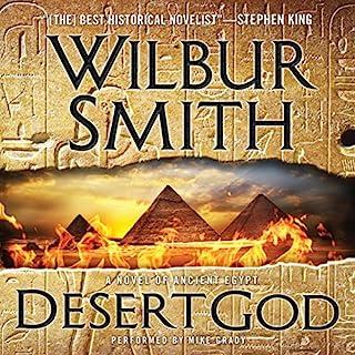 Desert God audiobook cover art