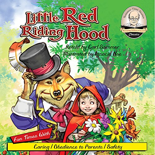 Little Red Riding Hood audiobook cover art