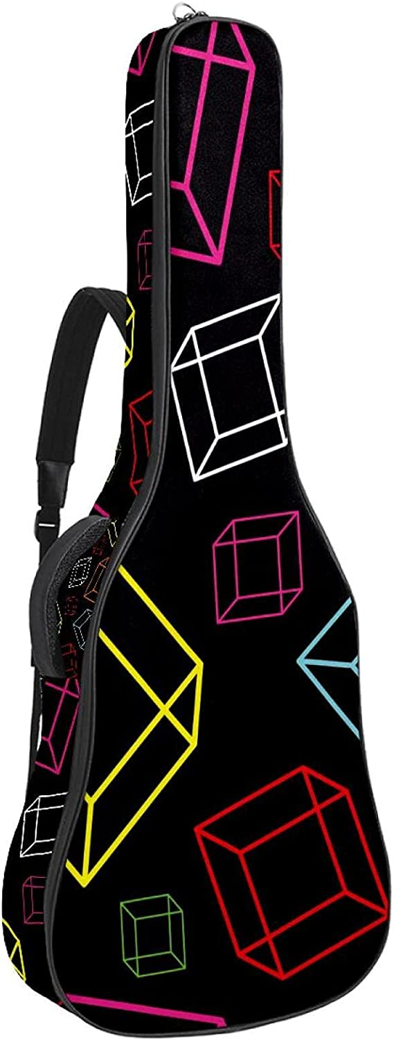 Electric 2021 new Guitar Bag Padded Sh Adjustable Gig Cheap mail order sales Acoustic