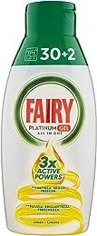 Fairy Platinum Gel Lessive Lave-vaisselle Tout en