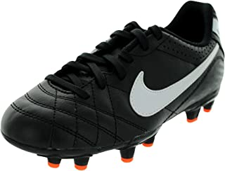 Junior Tiempo Natural IV Firm Ground Football Boots