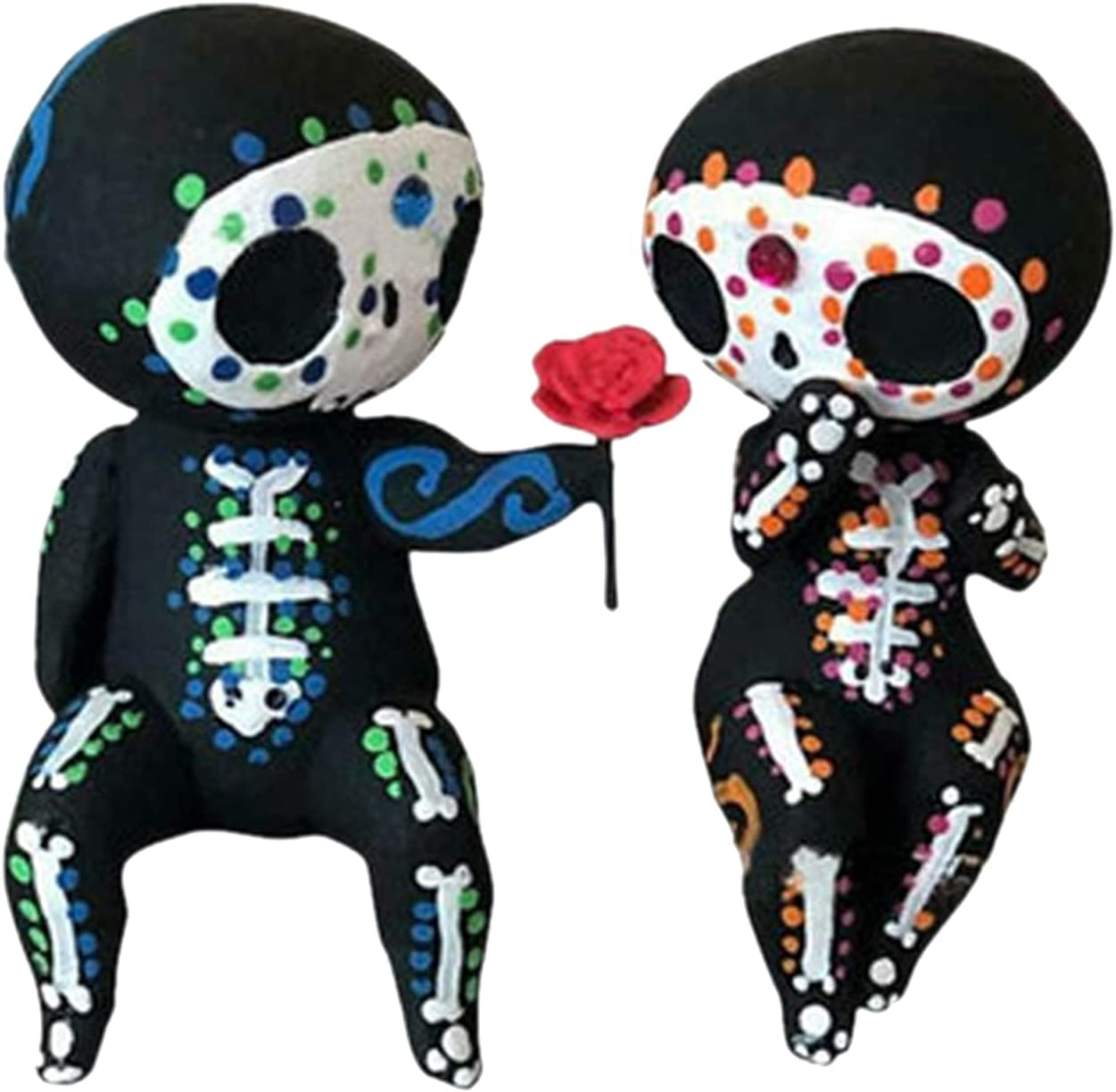 Special sale item Clearance SALE! Limited time! MagiDeal Resin Sugar Skull Figurine Display Statue Cr Miniatures