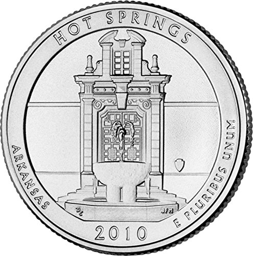 2010 D Hot Springs National Park – P 40 Coin Bankroll Uncirculated