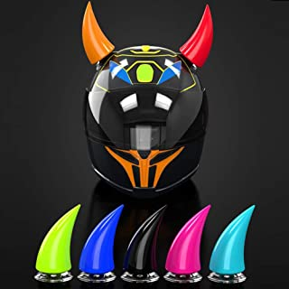 Leoie Universal Motorcycle Accessories Helmet Suction Cup Horn Plastic Rubber Decoration Pink