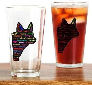 Blue Heeler Tribute Pint Glass, 16 oz. Drinking Glass