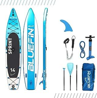 comprar comparacion Bluefin Tabla de Paddle Surf Hinchable de 14' | 15cm de Espesor | Remo Liviano de Fibra de Vidrio | Longitud para Expedici...