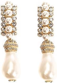 Luxury Fashion | Dolce E Gabbana Womens WEL8P1W1111ZOO00 Gold Earrings | Fall Winter 19