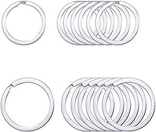 حلقه های حلقه مسطح JIANG Keyrings مقاوم در مقابل