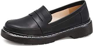 Womens Fashion Oxfords Comfort Non-Slip Patent Leather Loafers Spring Summer Autumn Casual Shoes
