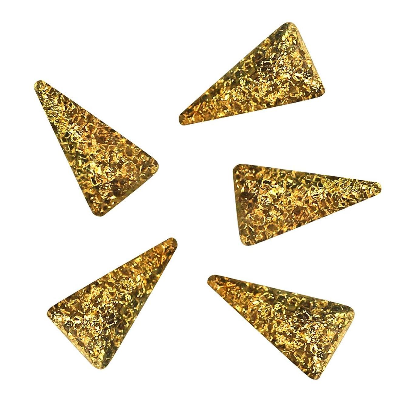 仮定、想定。推測気づかないホストBonnail ラフスタッズゴールド ロングトライアングル3×2mm