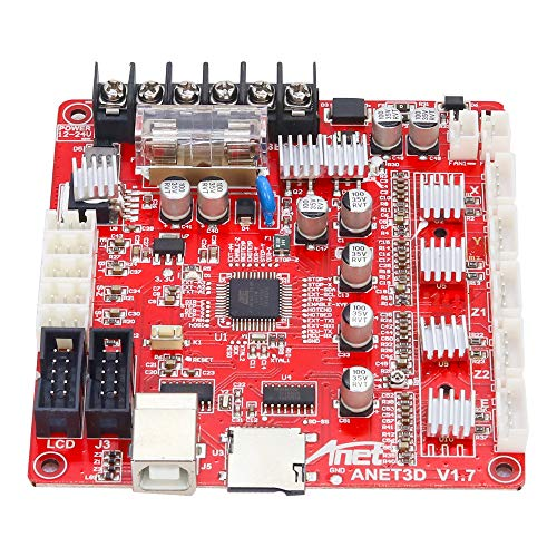 Leeofty A1284-Base V1.7 Control Board Mother Board Mainboard for Anet A8 DIY Self Assembly 3D Desktop Printer RepRap i3 Kit