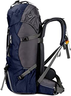 Free Knight 60L Hiking Backpack Large Capacity Internal Frame Water Resistant Outdoor Bag with Rain Cover
